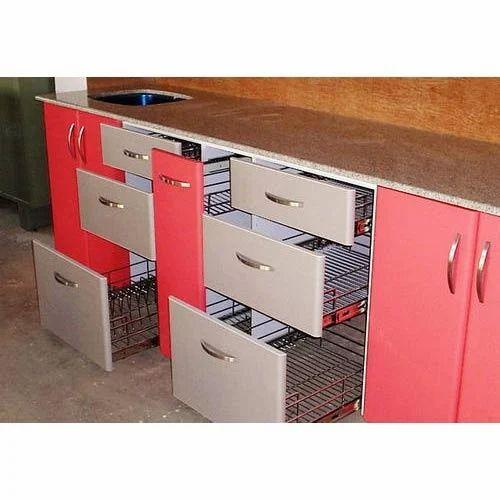 Modular Kitchen Trolleys At Rs 3500 /rft