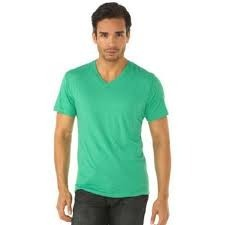 V Neck Mens T Shirt