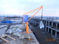 Mini Tower Crane For Construction Sites