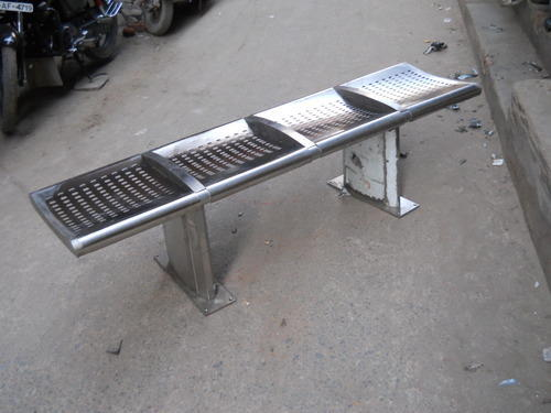 4 Seater Steel Bench