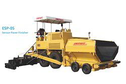 Road Sensor Paver Finisher