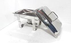 Chafing Dish - Rectangular Liftop 4-5 Lit. Cap