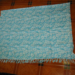 Printed Pareo With Fringes