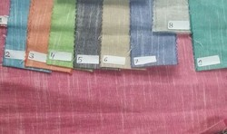 Plain Linin Handloom Slub Fabric