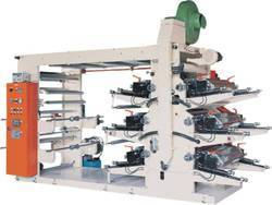 Woven Fabric Eight Colour Flexo Printing Machine