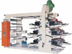 Woven Fabric Eight Colour Flexo Printing Machine