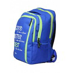 Blue and Green Salute Backpacks