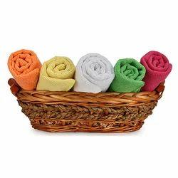 Plain Microfiber Luxurious Hand Towels, 250-350 GSM, Size: 40*60 Cm