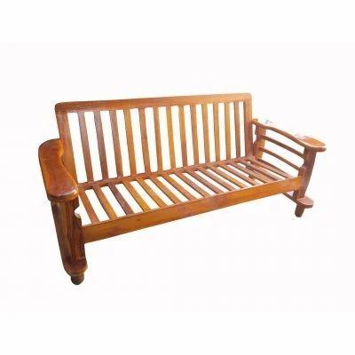 Nautical 3 Seater Wooden Sofa At Rs 18500 Pcs Lakdi Ka