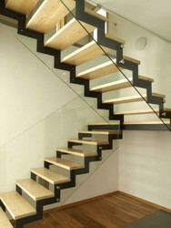 Duplex Staircase With MS Structure Plates
