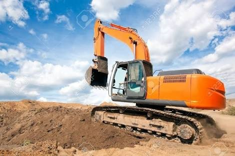 Excavator For Hire Basis & Excavator For Per Hours by Sahara