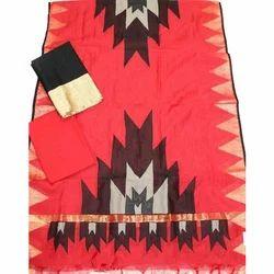 Nihira Designs Silk Applique Work Dress Material, For Personal