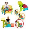 3 In 1 Leisure Chair For Playschool