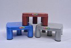 Square Plastic Stool 12155
