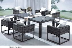 Wicker Cane Dining Sets