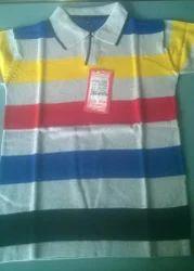 Cotton Knitted T- Shirts, Size: Medium, Large, XL