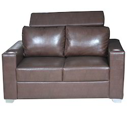 Faux Leather Size: 25 x 40 x 24 Inches Silver Arrow, Living Room Sofa, For Home