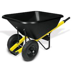 Hand Double Wheel Barrow