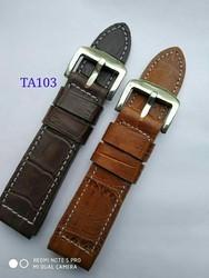 Fancy Strap Watch Leather