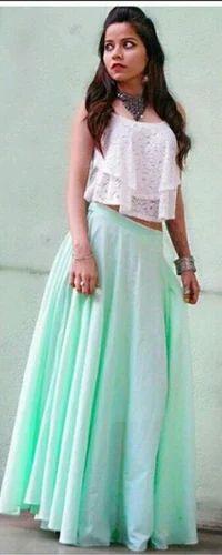 27b107145e Crop Top N Skirt, Size: Large, Rs 4599 /piece, Yogi Fashion Boutique ...
