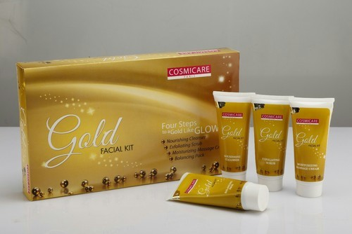 Cream Cosmicare Gold Facial Kit, for Face