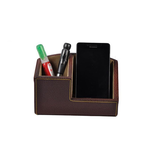 Leather-Pen-Stand