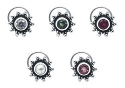 SHNP003  Silver Nose Pin Pack