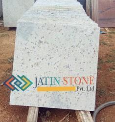 Kashmir White Sandblasted Granite