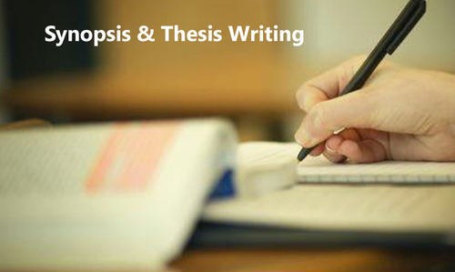 thesis writing jobs in india