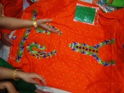 Pure Thread Work Punjabi Style Suits