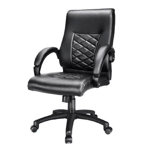 Rotatable Black Custom Office Chair
