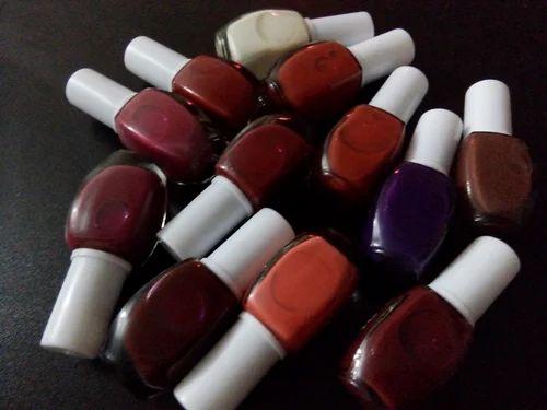 Matte Paint Box Set With 12 Colors Nail Polish Usage Personal Parlour
