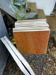 Pink Lime Stone Slab