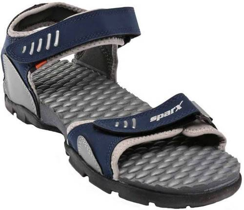 Sparx Mens Blue Grey Sandals at Rs 747