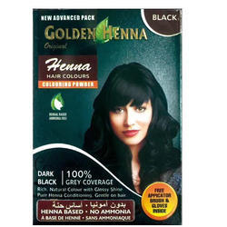 Black Henna Hair Color, For Personal