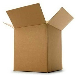 Brown Cardboard Corrugated Packaging Box, Ply: 3, 5 and 7