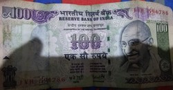 Selected Indian Notes (100 Rs. Indian Note 786 No. 10 Rs. Indian Note 786 No.)