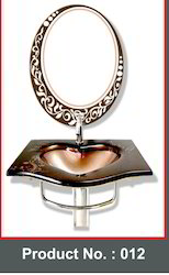 Heart Shape Glass Basin