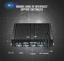 i3 Industrial Embedded Box PC