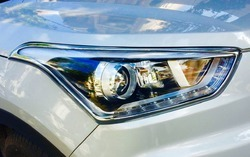 Chrome Head Light Covers
