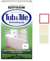 Floor Rustoleum Specialty Rust Oleum Specialty Tub & Tile Epoxy Paint, Packaging Type: Tin , Packing Size: 946 Ml