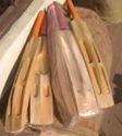 Hard Tennis Cricket Bat-Scopped --Single Blade