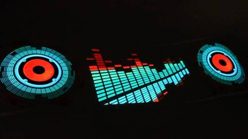 Auto Led Lampen : Car music rhythm led lamp auto light emitting diode lamp ऑटो