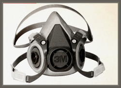 3M 6200 Half Facepiece Respirator Nose Mask Without Cartridgs