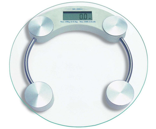 Toughened Glass Personal Digital Weight Scale Round, Rs 350 /piece   ID:  12525043733