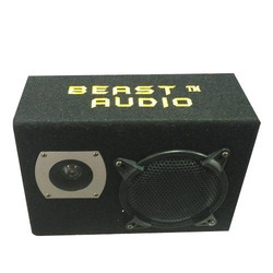 Beast Audio Black Car Bass Tube Speaker, For Automobile Industry, Size: 8 Inch