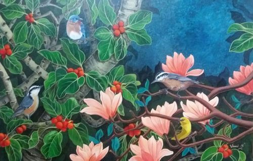 Nature Wall Painting Artequest Art Gallery Manufacturer