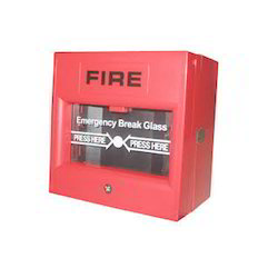 Red Manual Fire Alarm System