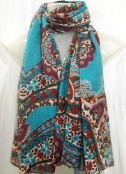 Voile Printed Fancy Scarf