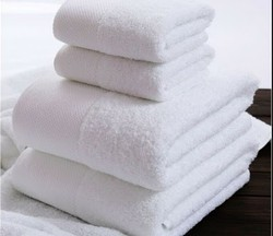 Cotton Printed Hotel Towels, Size: 30*60